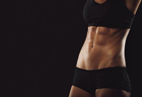 Intenset diéta fogyókura fit női test