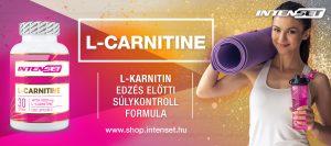 L-Carnitine Intenset zsírégető