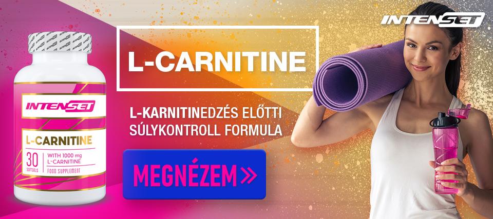 Intenset L-Carnitine zsírégető