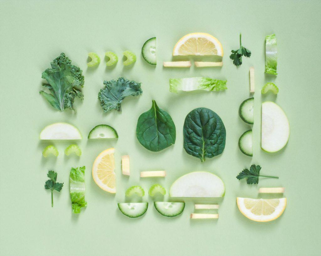 diétás ételek intenset zöldség citrom saláta